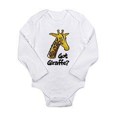 Got Giraffe? Long Sleeve Infant Bodysuit