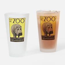 Vintage Philadelphia Zoo Pint Glass