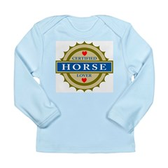 Certified Horse Lover Long Sleeve Infant T-Shirt