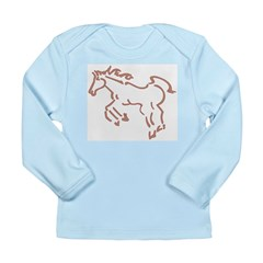 Horse Long Sleeve Infant T-Shirt