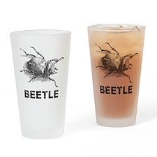 Vintage Beetle Pint Glass