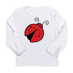 Ladybug Long Sleeve Infant T-Shirt
