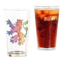 Lion Pint Glass
