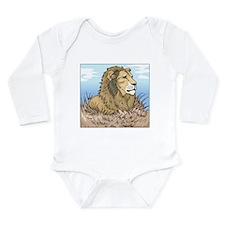 Lion Long Sleeve Infant Bodysuit