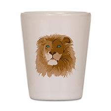 Realistic Lion Shot Glass