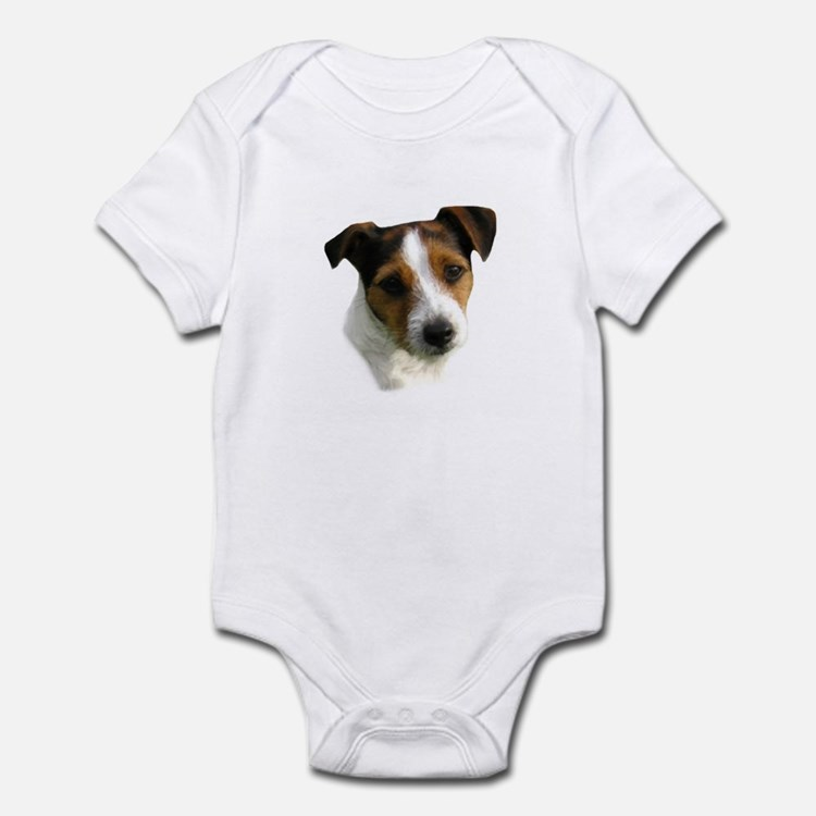 Jack Russell Watercolor Infant Creeper