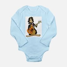 Cool Monkey Long Sleeve Infant Bodysuit