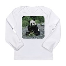 Panda Long Sleeve Infant T-Shirt
