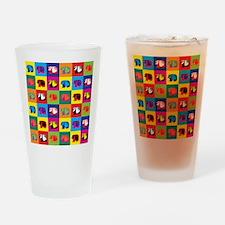 Pop Art Panda Pint Glass