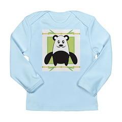 Cute Panda Long Sleeve Infant T-Shirt