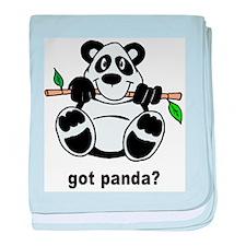 Got Panda? baby blanket