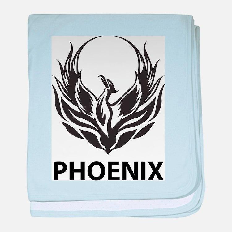 Phoenix baby blanket