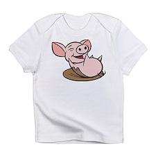 Playful Pig Infant T-Shirt