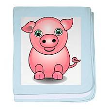 Cute 3D Pig baby blanket