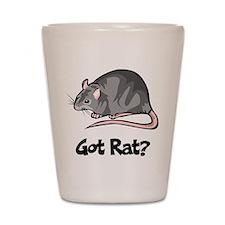 Got Rat? Shot Glass
