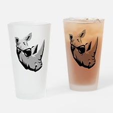 Cool Rhinoceros Pint Glass