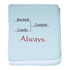 Beckett Castle Caskett Always baby blanket