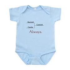 Beckett Castle Caskett Always Infant Bodysuit