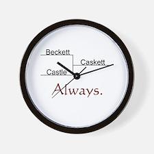 Beckett Castle Caskett Always Wall Clock