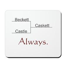 Beckett Castle Caskett Always Mousepad