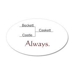 Beckett Castle Caskett Always Wall Decal