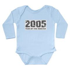 2005 Long Sleeve Infant Bodysuit