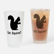 Got Squirrel Pint Glass