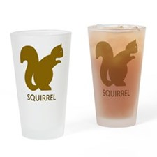Squirrel Pint Glass