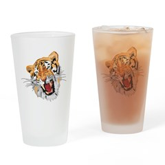 Fierce Tiger Pint Glass