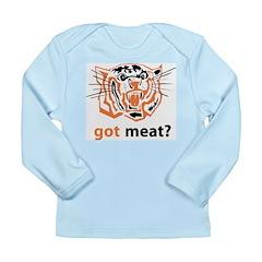 got meat? Long Sleeve Infant T-Shirt