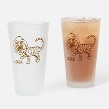 Retro Liger Pint Glass