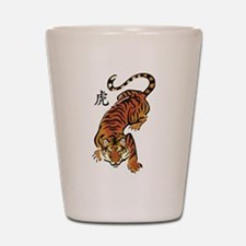 Chinese Tiger Shot Glass