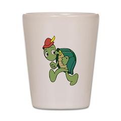 Running Turtle Shot Glass