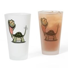 Funny Turtle Pint Glass