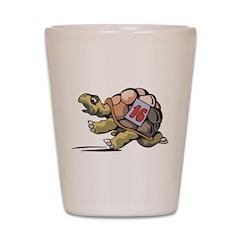 Tortoise Race Shot Glass
