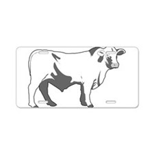 Cool Steaks Aluminum License Plate