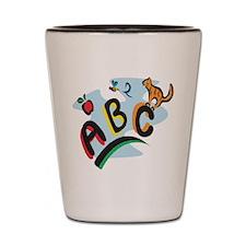 ABC Shot Glass
