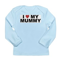 I Love My Mummy Long Sleeve Infant T-Shirt