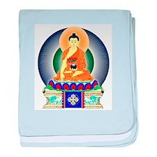 Colorful Buddha baby blanket