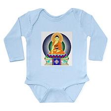 Colorful Buddha Long Sleeve Infant Bodysuit