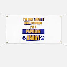 Papillon Daddy Banner