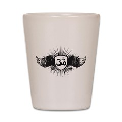 Stylish Om Shot Glass