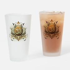 Stylish Om Pint Glass
