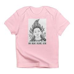 Vintage Om Mani Padme Hum Infant T-Shirt