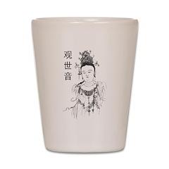 Vintage Guan Yin Shot Glass