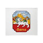 Snow Lion + Dharma Throw Blanket
