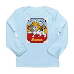 Snow Lion + Dharma Long Sleeve Infant T-Shirt