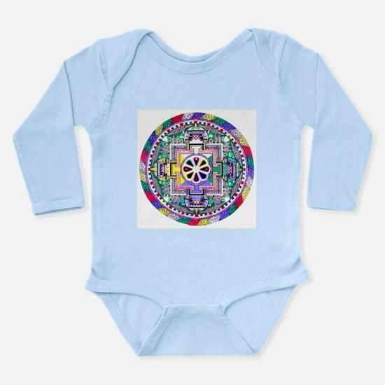 Mandala Long Sleeve Infant Bodysuit