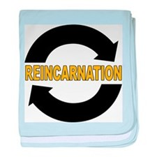 Reincarnation baby blanket
