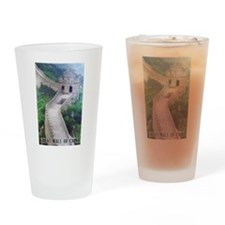 Great Wall Of China Pint Glass